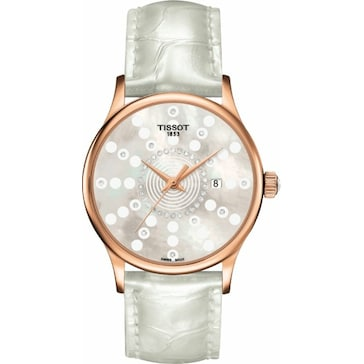 Tissot Rose Dream Quartz Lady Diamonds