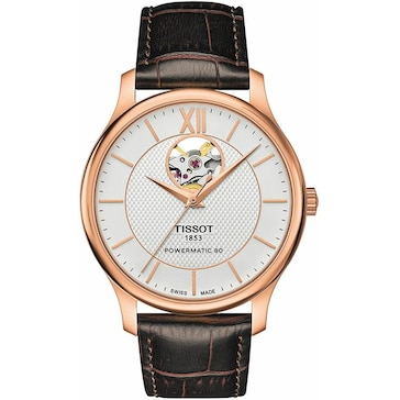 Tissot Tradition Powermatic 80 Open Heart T063.907.36.038.00
