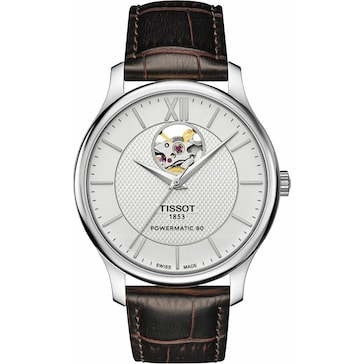 Tissot Tradition Powermatic 80 Open Heart T063.907.16.038.00