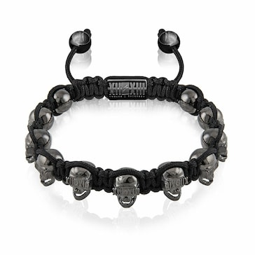 Twelve Thirteen Skull Black Treasure M BR445.M