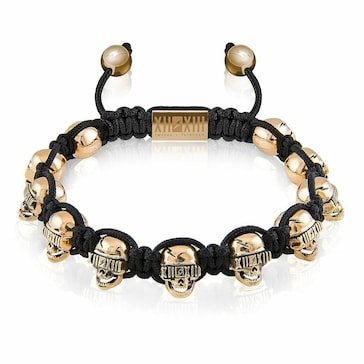 Twelve Thirteen Skull Golden Treasure M BR444.M