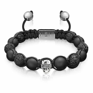 Twelve Thirteen Skull Silver Hunter M