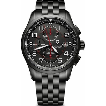 Victorinox Swiss Army Airboss Mechanical Chronograph Black Edition  241741