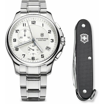 Victorinox Swiss Army Officer's Chronograph Set 241554.1