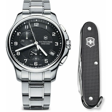 Victorinox Swiss Army Officer's Chronograph Set 241592.1