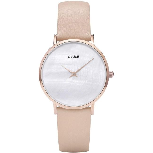 Cluse Minuit La Perle Roségold Weiss Perlmutt/Nude CL30059
