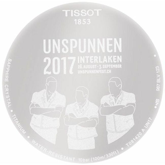 Tissot T-Touch Expert Solar Unspunnen 2017 Special Edition ...