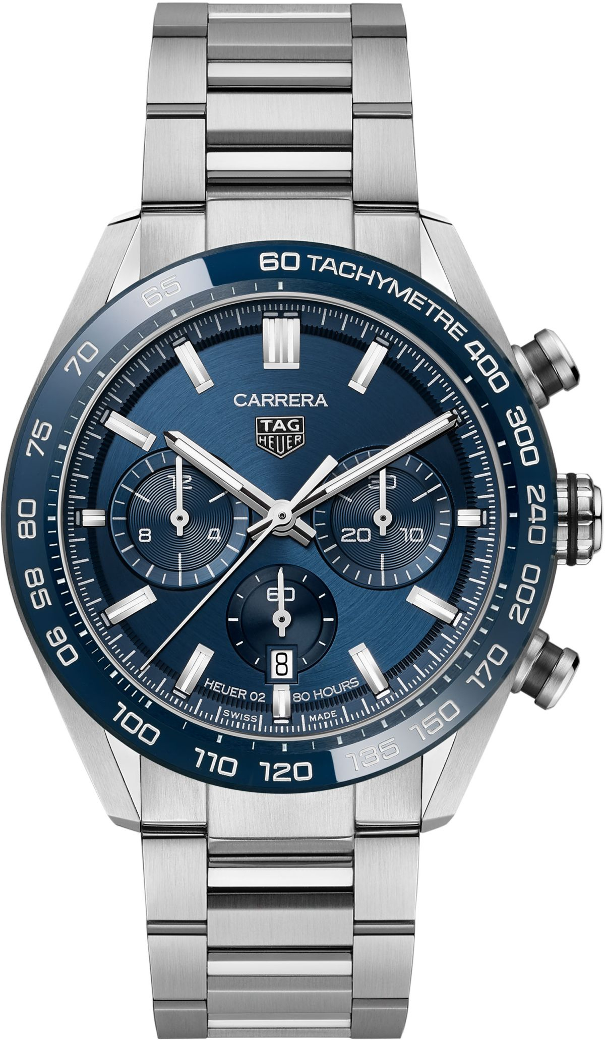 TAG Heuer Carrera Calibre Heuer 02 Original Racing Chronograph