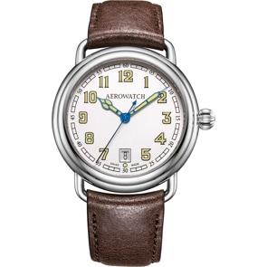 Aerowatch 1942 Elegance Leder braun
