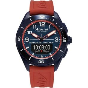 Alpina AlpinerX Alive Smartwatch Blau / Rot