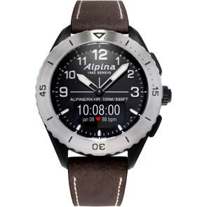 Alpina AlpinerX Alive Smartwatch Schwarz / Braun