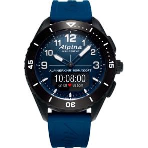 Alpina AlpinerX Alive Smartwatch Schwarz / Dunkelblau