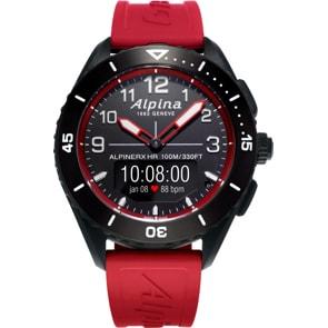 Alpina AlpinerX Alive Smartwatch Schwarz / Rot