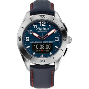 Alpina AlpinerX Alive Smartwatch Silbrig / Blau