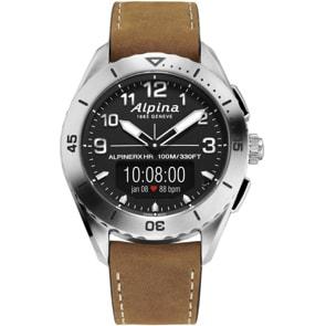 Alpina AlpinerX Alive Smartwatch Silbrig / Braun