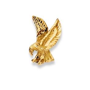 Anhänger 750/18 K Gelbgold, Adler