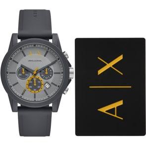Armani Exchange Outerbanks Chronograph Set