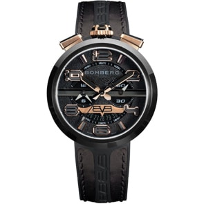 Bomberg 1968 Black & Gold Chronograph
