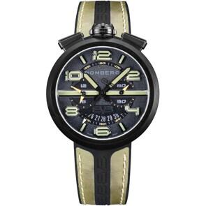 Bomberg 1968 Black & Green Chronograph