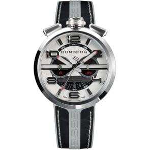 Bomberg 1968 Black & Grey Chronograph