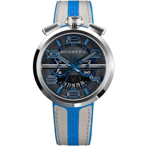 Bomberg 1968 Blue & Grey Chronograph