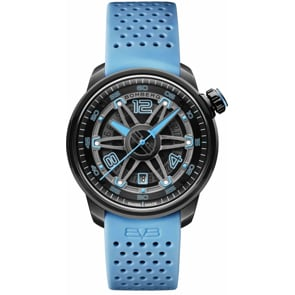 Bomberg BB-01 Automatic Black & Blue