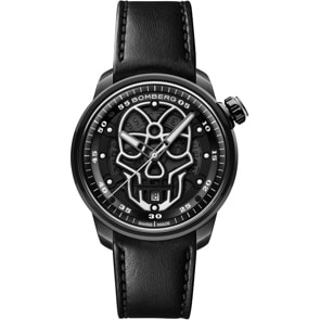 Bomberg BB-01 Automatic Black Skull