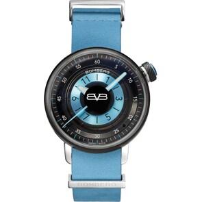 Bomberg BB-01 Blue & Black Lady