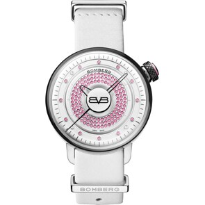 Bomberg BB-01 Lady Skylighter Rosa & Weiss