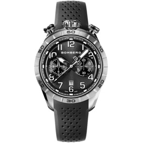 Bomberg BB-68 Black Chronograph