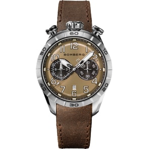 Bomberg BB-68 Brown Chronograph