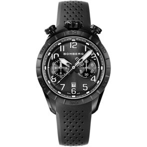 Bomberg BB-68 Pitch Black Chronograph