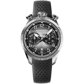 Bomberg BB-68 Smoked Black Chronograph