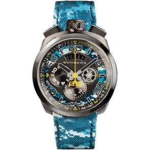 Bomberg Bolt-68 Camo Blue Chronograph