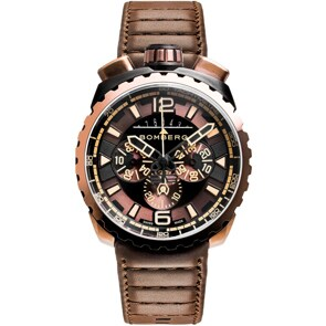 Bomberg Bolt-68 Dark Brown Chronograph