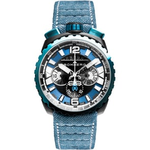 Bomberg Bolt-68 Denim Blue Chronograph