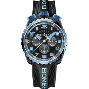 Bomberg Bolt-68 Neon V2 Blue & Black Special Edition