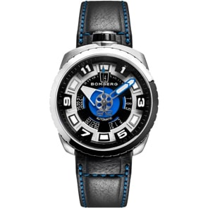 Bomberg Bolt-68 Steel & Blue Sapphire Automatic
