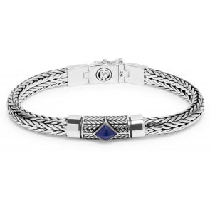 Buddha to Buddha Armband Ellen XS Stone Blue 19cm