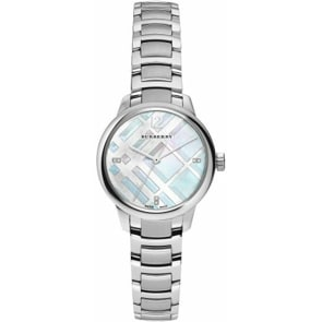 Burberry The Classic Round Ø 32mm Diamonds