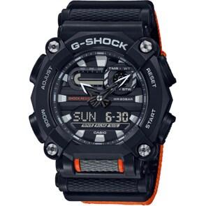 Casio G-Shock Classic Schwarz / Orange