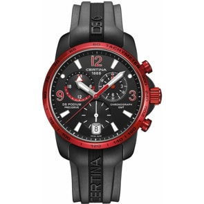 Certina DS Podium Big Size Chrono GMT Aluminium