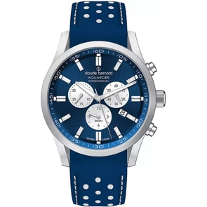 Claude Bernard Aquarider Chronograph Blau