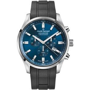 Claude Bernard Aquarider Chronograph Blau / Schwarz