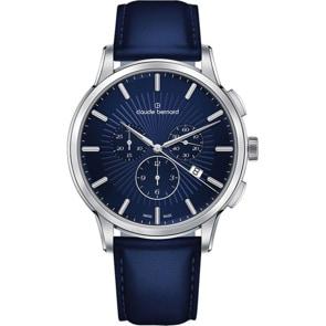 Claude Bernard Classic Chronograph Blau