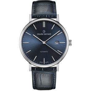 Claude Bernard Classic Slim Line Automatic Blau