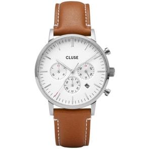 Cluse Aravis Chrono Silver