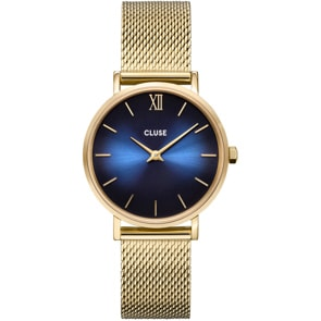 Cluse Minuit Gold Deep Blue