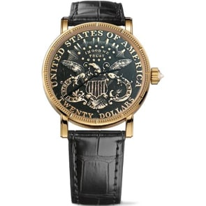 Corum Artisans 20$ Coin Watch Gold C293/02910