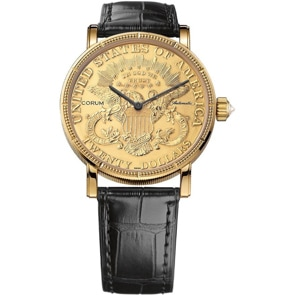Corum Artisans 20$ Coin Watch Gold C293/00831